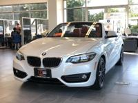 CARFAX One-Owner. Clean CARFAX. Gy 2018 BMW 2 Series