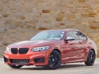 This 2018 BMW 2 Series M240i, AWD, black Leather,