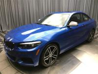 Estoril Blue Metallic 2018 BMW 2 Series M240i AWD