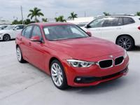 2018 BMW 3 Series 320i 35/24 Highway/City MPG  Options: