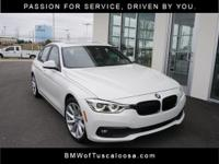 Alpine White 2018 BMW 3 Series 320i RWD 8-Speed