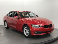 320i trim, Melbourne Red Metallic exterior and Black