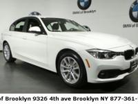 CARFAX One-Owner. Clean CARFAX. Alpine White 2018 BMW 3