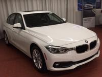 Alpine White 2018 BMW 3 Series 320i xDrive AWD 8-Speed