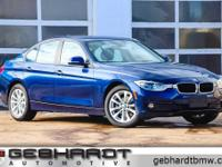Mediterranean Blue Metallic 2018 BMW 3 Series 320i
