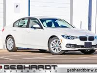 Mineral White Metallic 2018 BMW 3 Series 320i xDrive