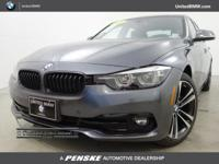 BMW Certified, CARFAX 1-Owner. 328d trim, Mineral Grey