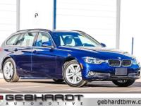 Mediterranean Blue Metallic 2018 BMW 3 Series 328d