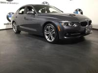 CARFAX One-Owner. Clean CARFAX. Gray 2018 BMW 3 Series