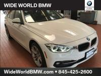 Alpine White 2018 BMW 3 Series 330i xDrive AWD 8-Speed