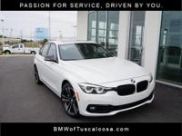 Alpine White 2018 BMW 3 Series 340i RWD 8-Speed