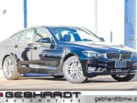Jet Black 2018 BMW 3 Series 340i xDrive Gran Turismo