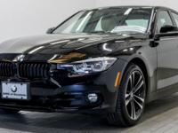 CARFAX One-Owner. Clean CARFAX. Jet Black 2018 BMW 3