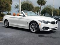New Arrival! -Great Gas Mileage- This 2018 BMW 4 Series