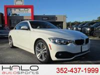 2018 BMW 430i HARD TOP CONVERTIBLE SPORTS COUPE- FULLY