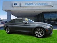 We are excited to offer this 2018 BMW 4 Series. Opulent