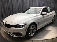 Alpine White 2018 BMW 4 Series 430i Gran Coupe RWD