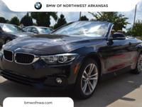 2018 BMW 4 Series 430i xDrive 32/22 Highway/City MPG