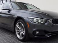 2018 BMW 4 Series 430i Gran Coupe 33/23 Highway/City