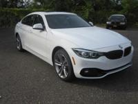 2018 BMW 4 Series 430i Gran Coupe Alpine White Advanced