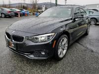 CARFAX One-Owner. Clean CARFAX. Black 2018 BMW 4 Series