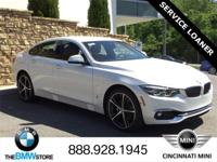 Service Loaner: 2018 BMW 4 Series 430i Gran Coupe