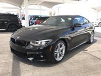 We are excited to offer this 2018 BMW 4 Series. You