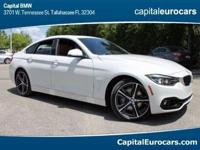 2018 BMW 4 Series 440i 32/21 Highway/City MPG  Options: