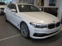 2018 BMW 530e xDrive iPerformance Mineral White