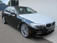 2018 BMW 530e xDrive iPerformance Black  Options: