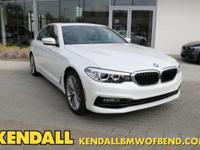 This 2018 BMW 5 Series 530e xDrive iPerformance is