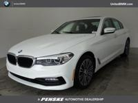 CARFAX 1-Owner, ONLY 507 Miles! 530i trim, Alpine White
