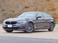 This 2018 BMW 5 Series comes with AWD/all-wheel drive,