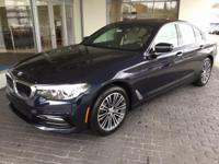2018 BMW 5 Series 530i 33/23 Highway/City MPG  Options:
