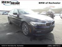 Jet Black 2018 BMW 5 Series 530i xDrive AWD 8-Speed