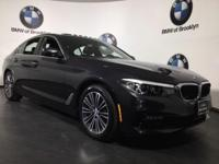 CARFAX One-Owner. Clean CARFAX. Gray 2018 BMW 5 Series