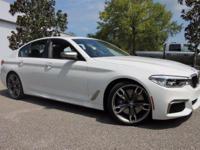 2018 BMW 5 Series M550i xDrive  Options:  Multi-Contour