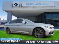 We are excited to offer this 2018 BMW 5 Series. You