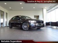New Price! 2018 Dark Graphite BMW 5 Series 4D Sedan