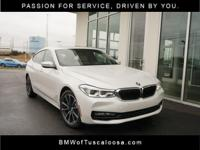 BMW of Tuscaloosa presents this 2018 BMW 640i xDrive GT