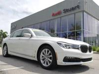 CARFAX One-Owner. Clean CARFAX. Alpine White 2018 BMW 7