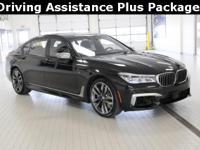 2018 BMW 7 Series V12 M760i Black Sapphire Metallic