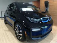 2018 BMW i3 Fluid Black w/BMW i Frozen Blue Accent