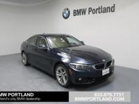 GREAT MILES 3,167! 430i xDrive trim. FUEL EFFICIENT 33