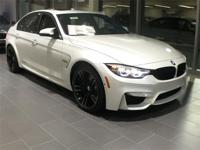 2018 BMW M3 Mineral White Metallic 3.0L I6 Black Kidney