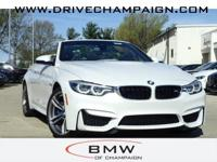 2018 BMW M4 Double Clutch Transmission Executive