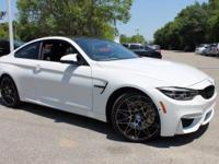 2018 BMW M4  Options:  Wheels: 18 X 9 Front & 18 X 10