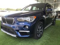 We are excited to offer this 2018 BMW X1. Want more