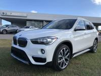 We are excited to offer this 2018 BMW X1. This SUV