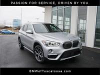 BMW of Tuscaloosa presents this 2018 BMW X1 xDrive28i